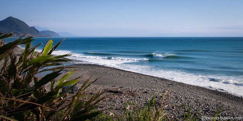 Taiwan East Coast Black Sand Beach | Surf Travel Taiwan